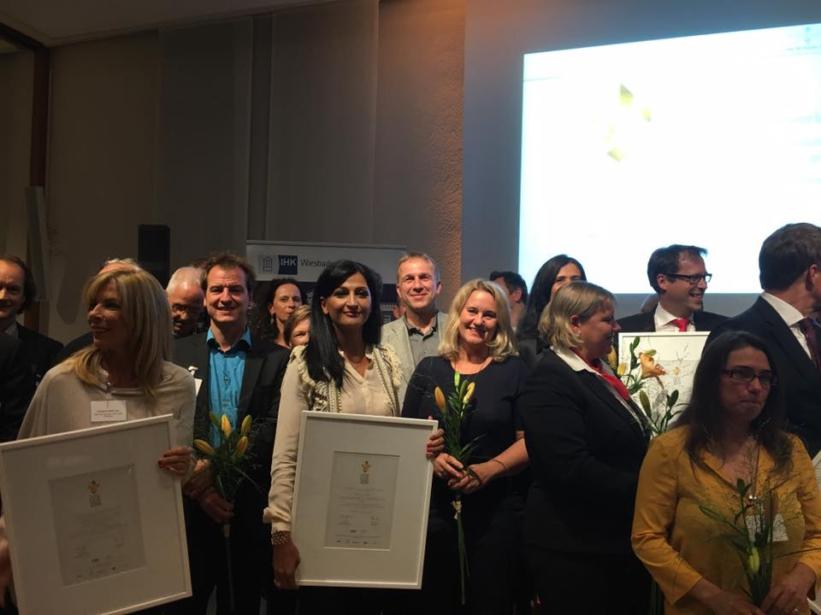 Verleihung der Goldenen Lilie 2016 in Wiesbaden Blog