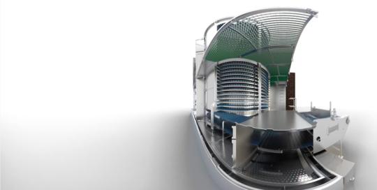 Our Work - 360° Animation Spiral Freezer Filme