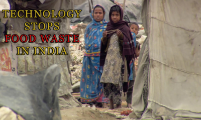 Technology stops food waste in India