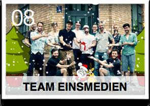 Es war einmal ... Plötzlich Weihnachten!... Geschenkefinder-Adventskalender Team Einsmedia