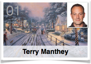 Es war einmal ... Plötzlich Weihnachten!... Geschenkefinder-Adventskalender Terry Manthey