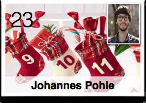 Es war einmal ... Plötzlich Weihnachten!... Geschenkefinder-Adventskalender Johannes Pohle