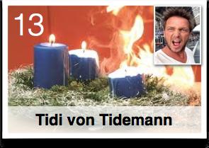 Es war einmal ... Plötzlich Weihnachten!... Geschenkefinder-Adventskalender Tidi von Tidemann