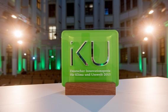 IKU Pokal 2015 (Deutscher Innovationspreis für Klima und Umwelt 2017)